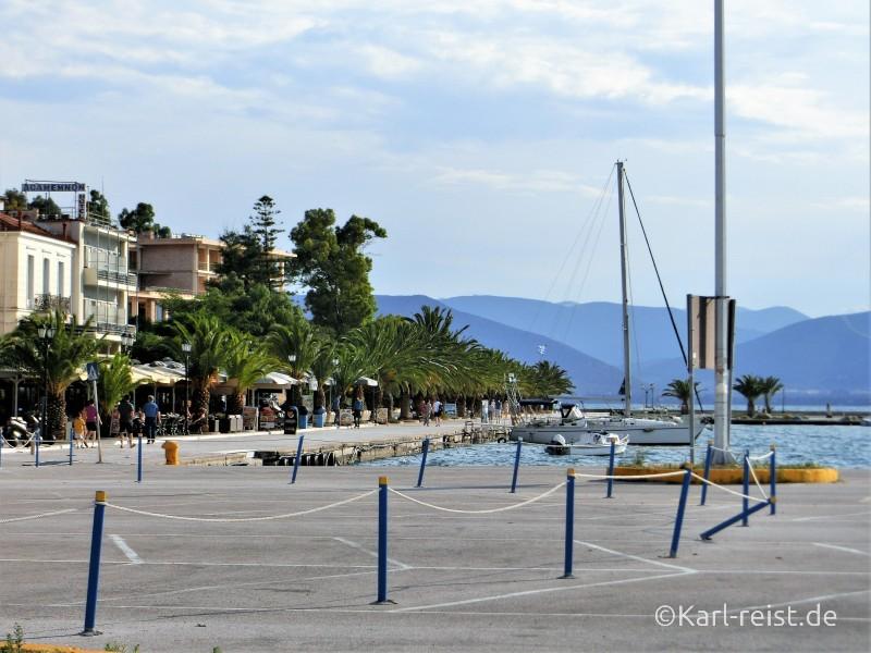 Nafplio Nauplion Hafen Meer Boote