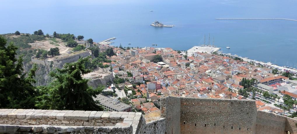Nauplion (Nafplio Griechenland): Romantische Altstadt und atemberaubende Aussichten vom Palamidi Castle