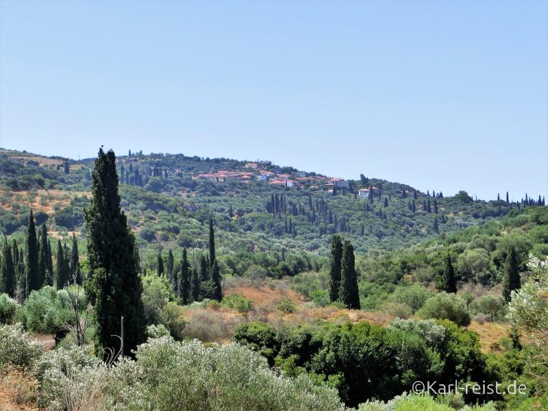 Landschaft auf der Peloponnes