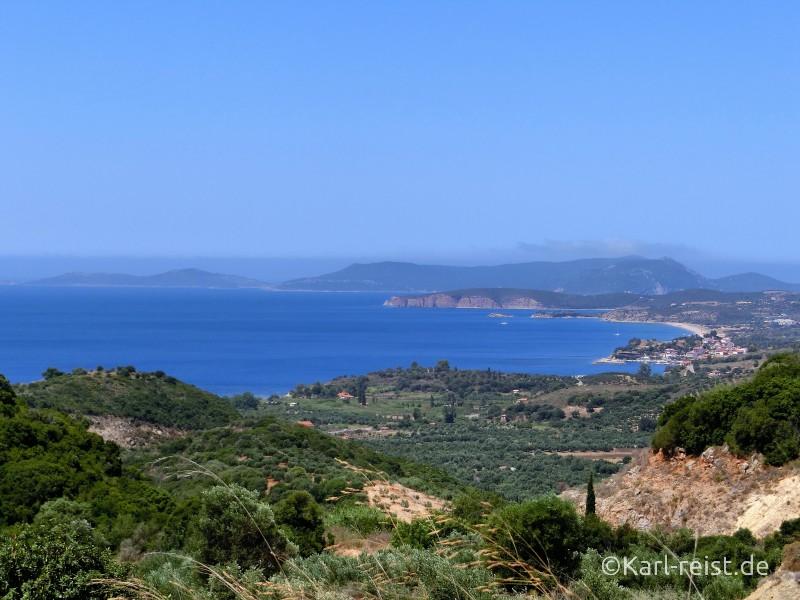 Landschaft der Peloponnes