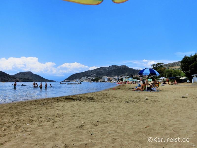 Tolo Peloponnes Strand