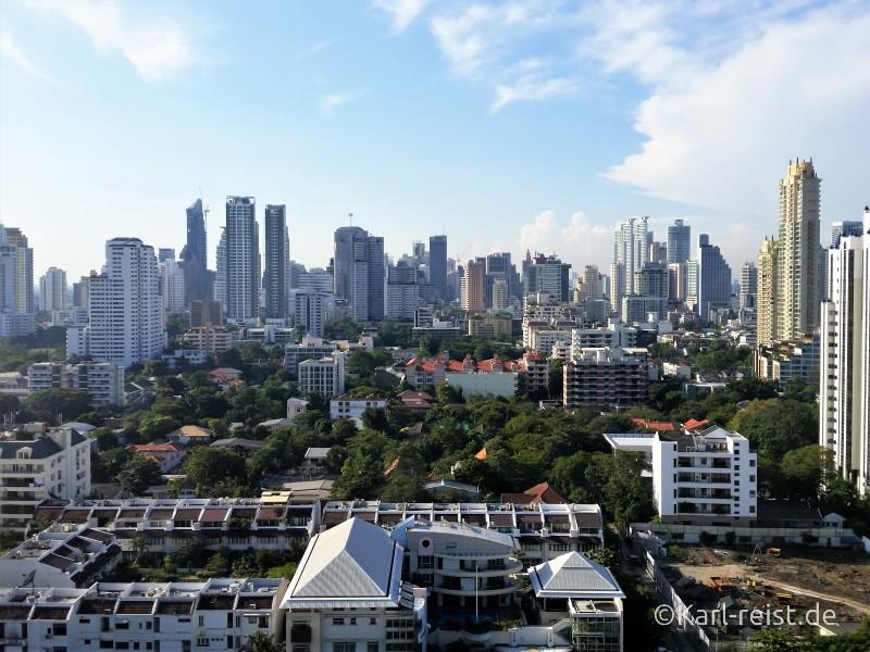 Avani atrium Bangkok Hotel Aussicht City