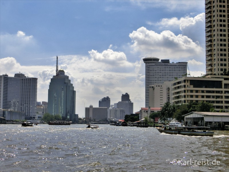Bangkok Chao Praya Fluss