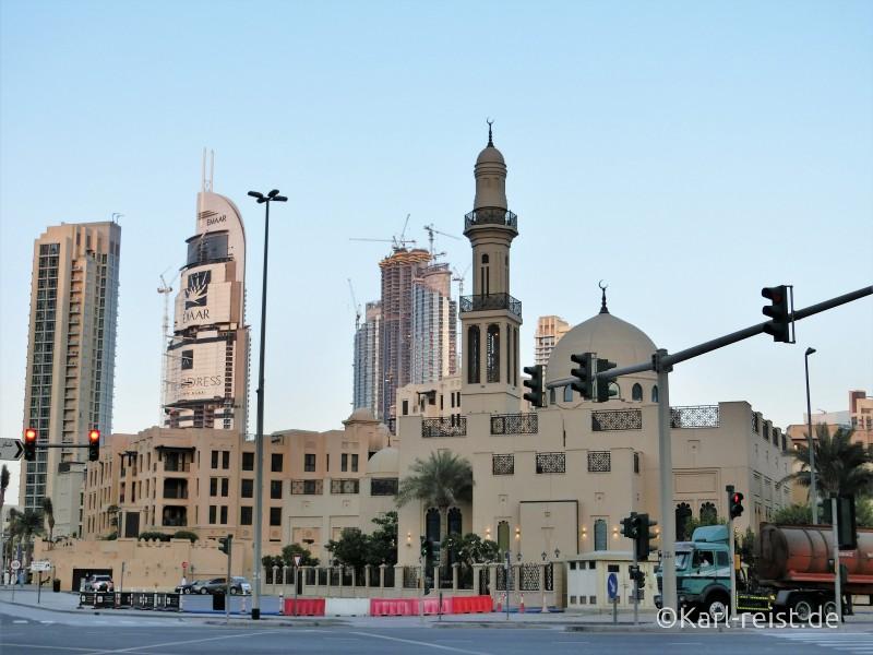 Dubai Downtown Al Ghafor Moschee