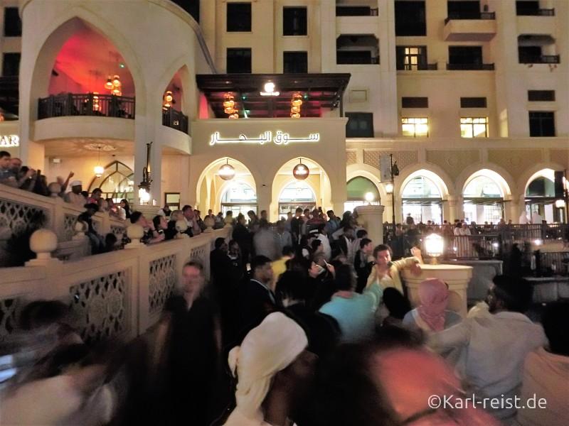 Dubai Wasserspiele Fontain
