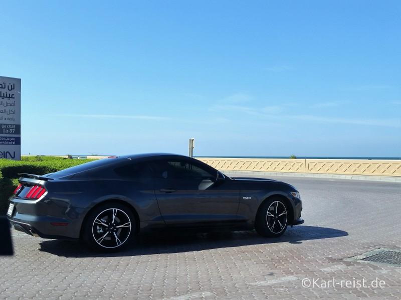 Dubai Autos Ford Mustang