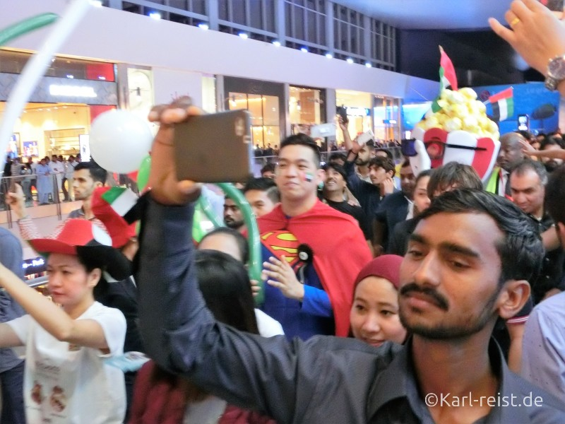 Dubai Mall Parade