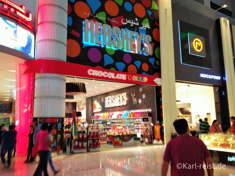 Dubai Mall Hershey's