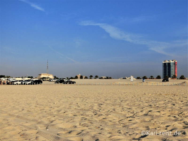 Al sufouh Beach Parkplatz