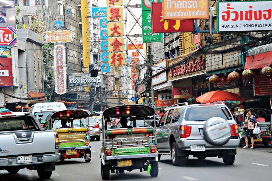 Bangkok Verkehrschaos