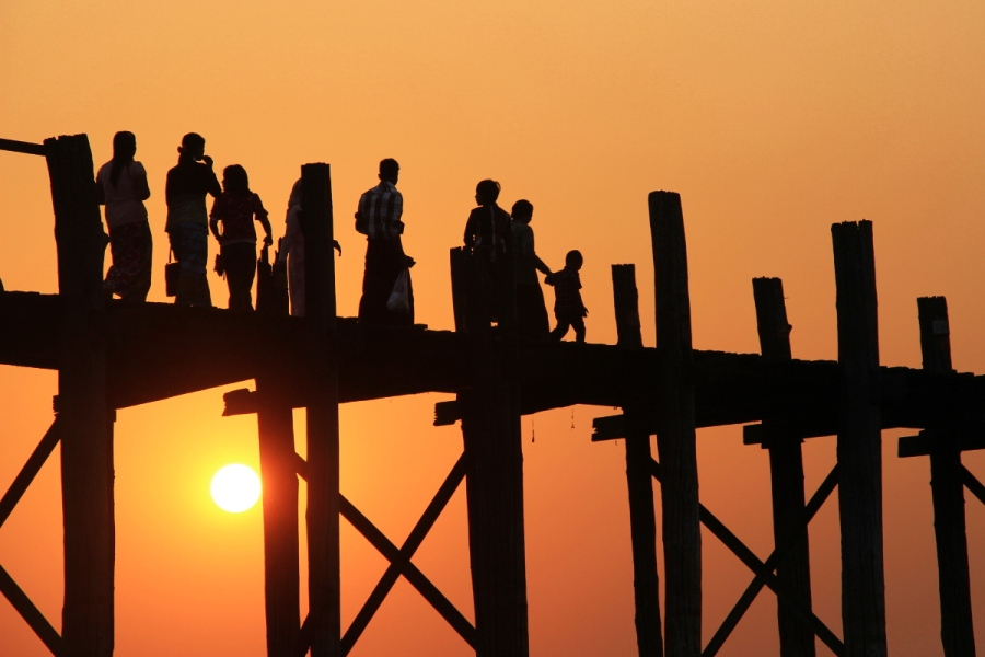 U-bein-Brücke Mandalay
