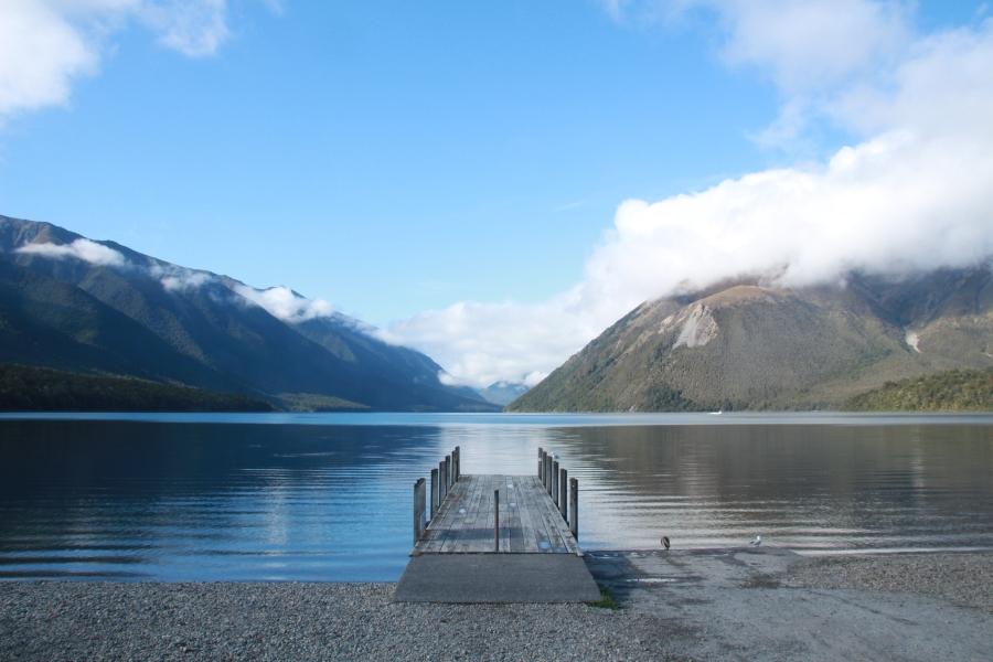 Rotoiti Lake Südinsel Neuseeland