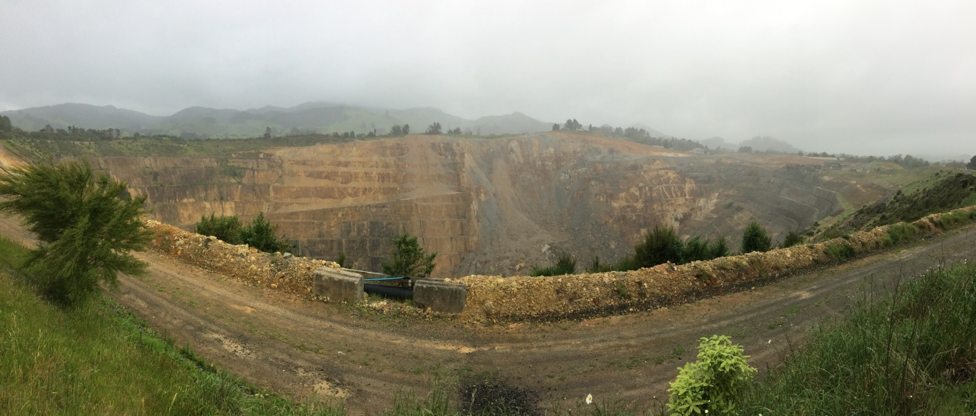 WaihiMartha Mine Neuseeland
