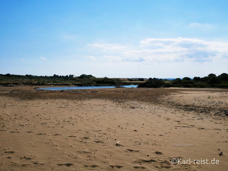 Naturreservat Riserva naturale orientata Oasi Faunistica di Vendicari Strand