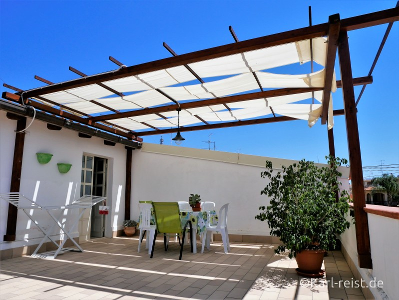 Apartment Cassibile Attico le Magnolie Dachterrasse