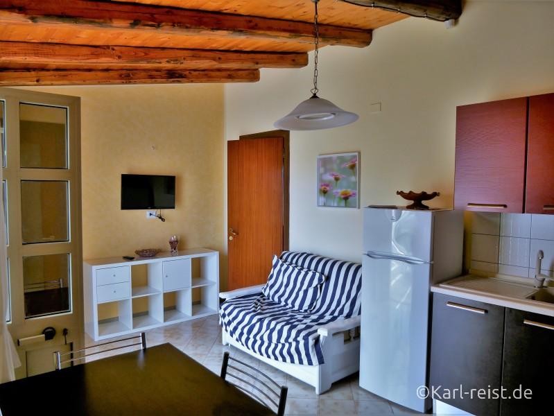 Apartment Cassibile Attico le Magnolie Küche