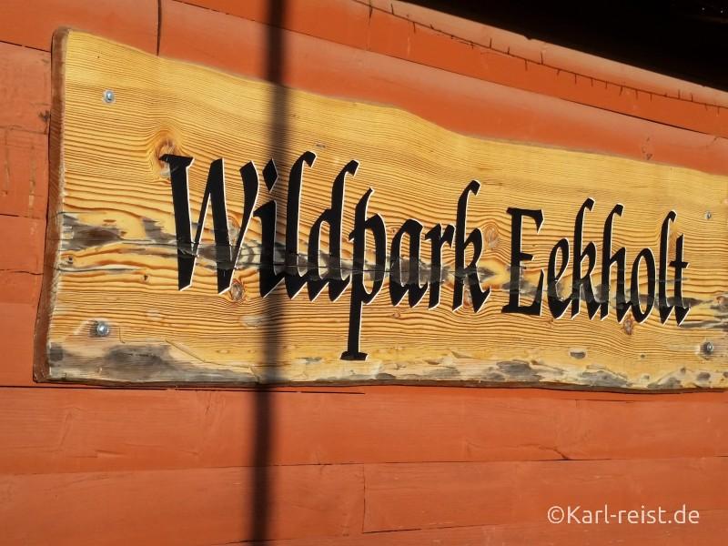 Wildpark Eekholt Eingang