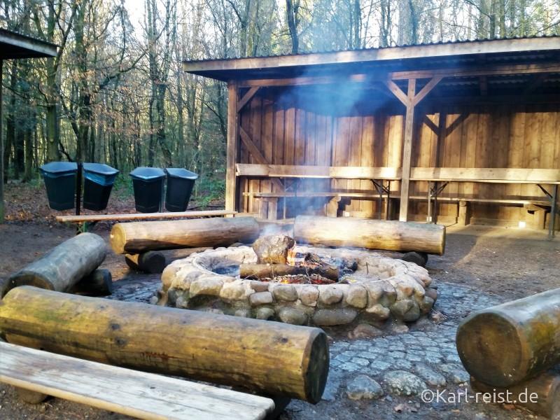 Wildpark Eekholt Lagerfeuer