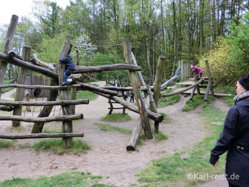 Klettergerüst Wildpark Eekholt