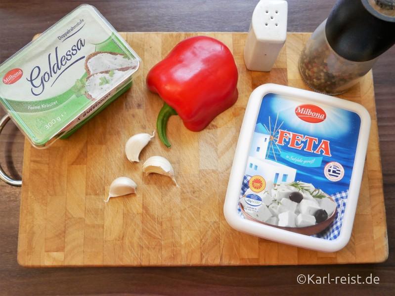 Schafskäsedip Rezept Feta Aufstrich Chtipiti Creme