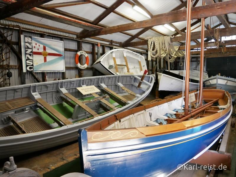 Devonport Torpedo Bay Navy Museum Boote