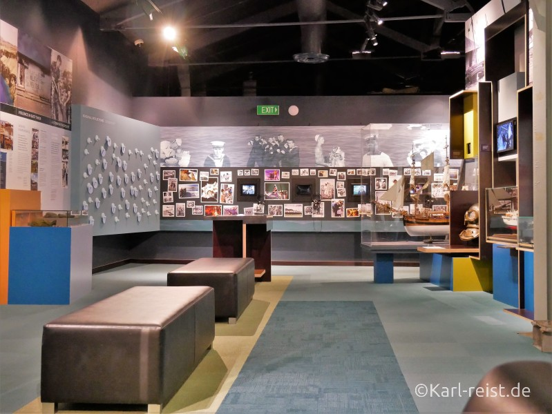 Devonport Torpedo Bay Navy Museum Ausstellung