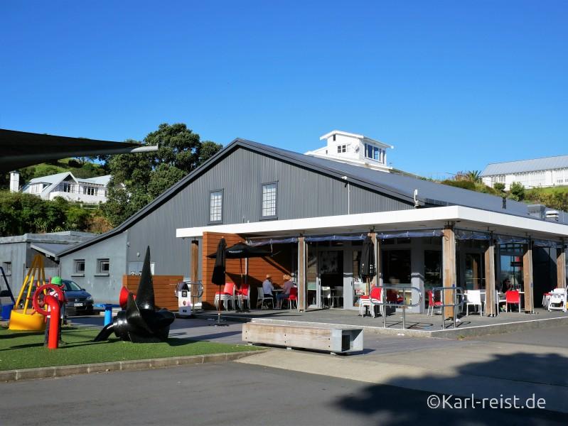 Außenansicht vom Devonport Torpedo Bay Navy Museum