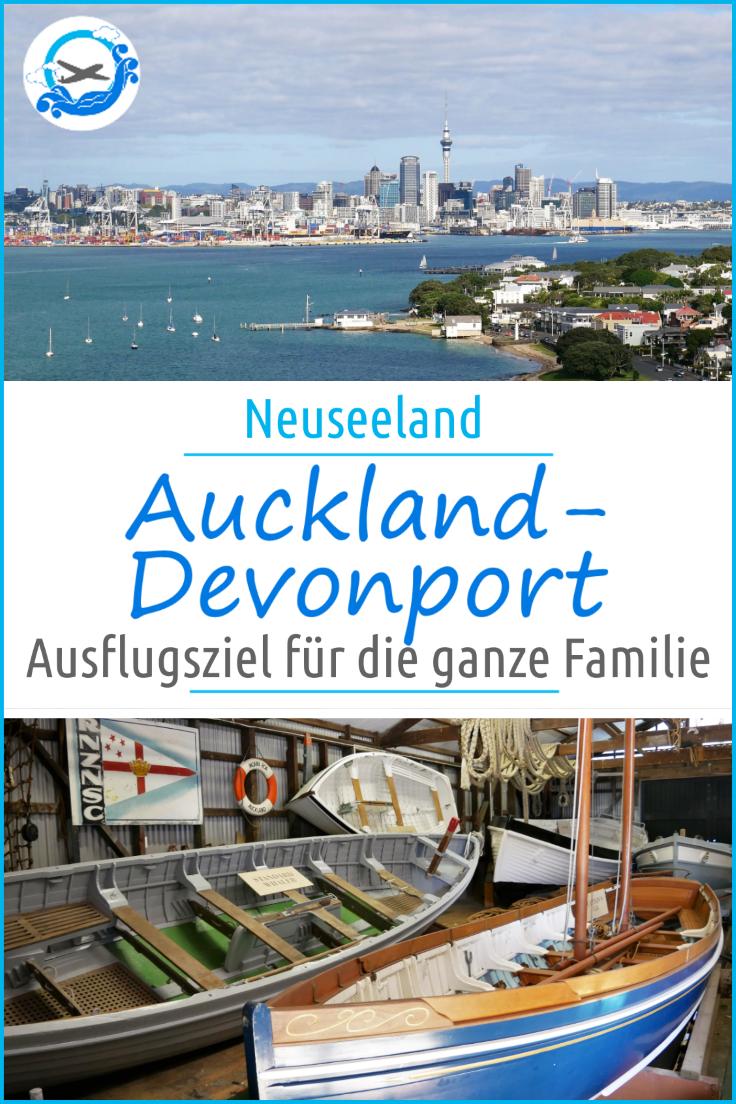 Tagesausflug nach Devonport in Auckland. Auf unserer Rundreise durch Neuseeland mit Kind besuchten wir diesen besonderen Stadtteil mit unglaublichen Aussichten #reisenmitkindern #reisenmitkind