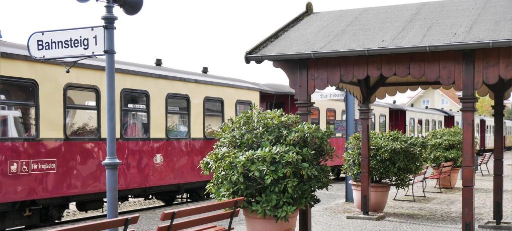Auf zur Molli-Bahn! Mit der historischen Dampfeisenbahn an die Ostseeküste