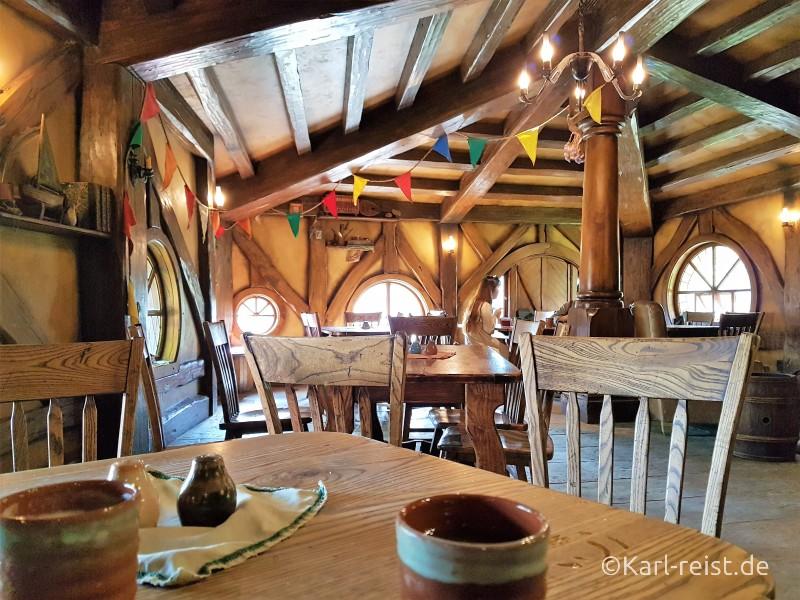 Neuseeland Nordinsel Green Dragon Pub Hobbiton