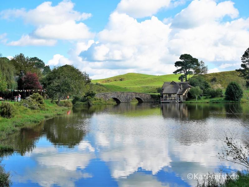 Neuseeland Nordinsel Matamata Hobbiton
