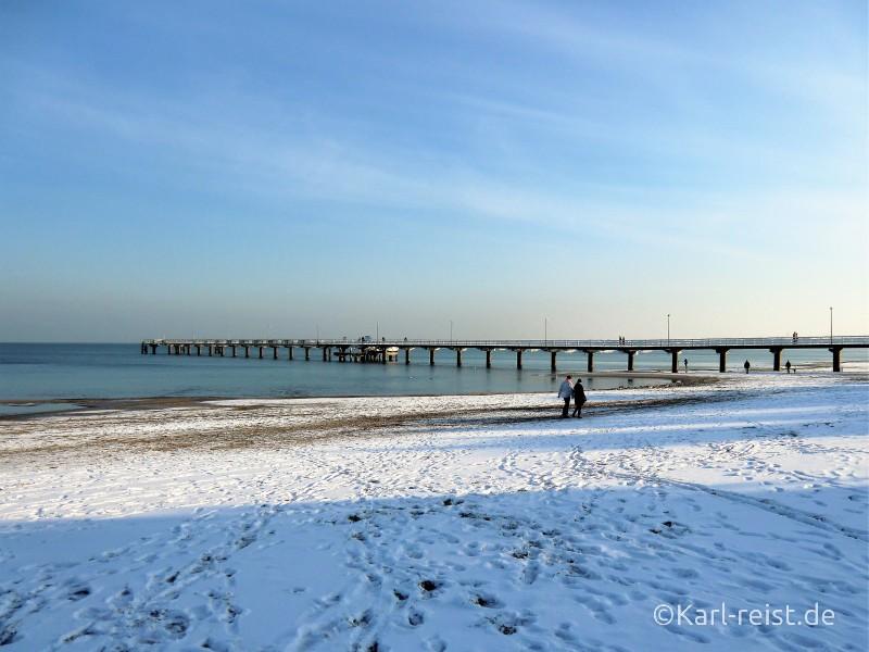 Ostsee im Schnee