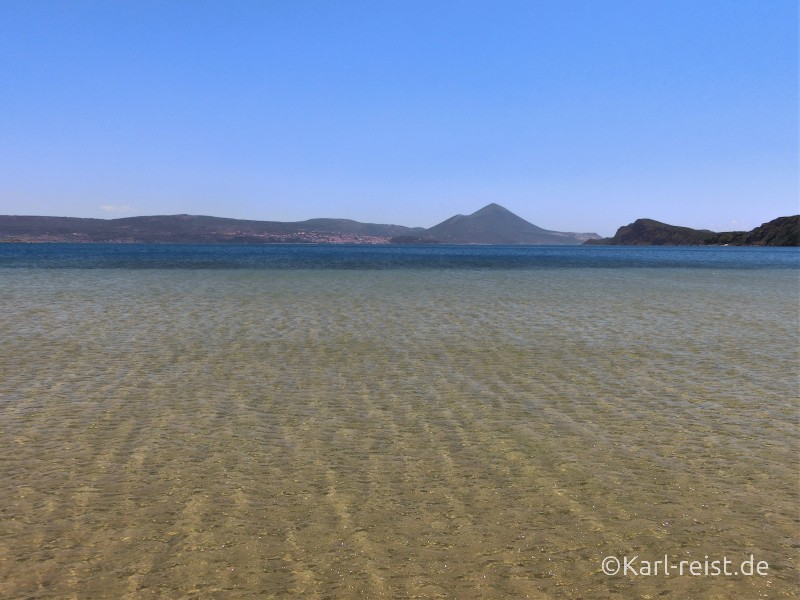 Peloponnes Strand Südküste