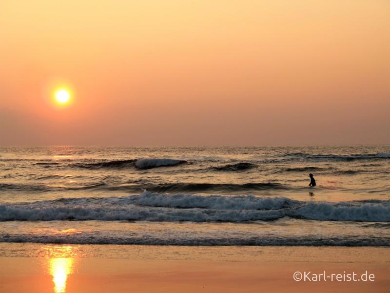 Strand surfen Atlantikküste Frankreich