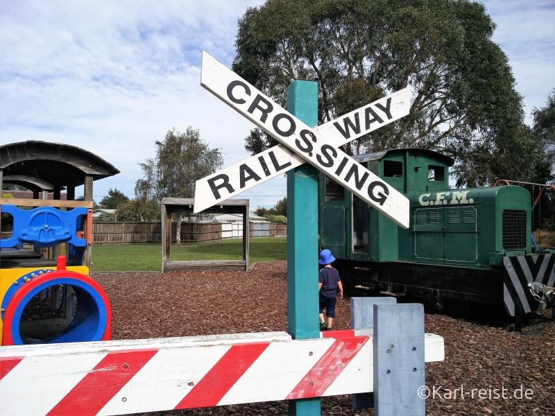 Eisenbahn Spielplatz Woodend