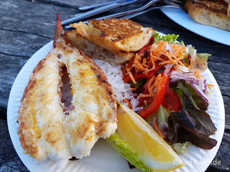 Kaikoura Seafood BBQ Crayfish