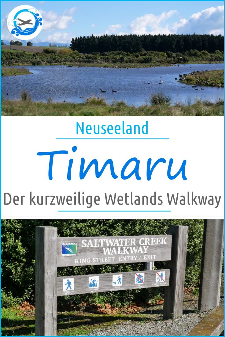 Timaru Otipua Wetlands Walk
