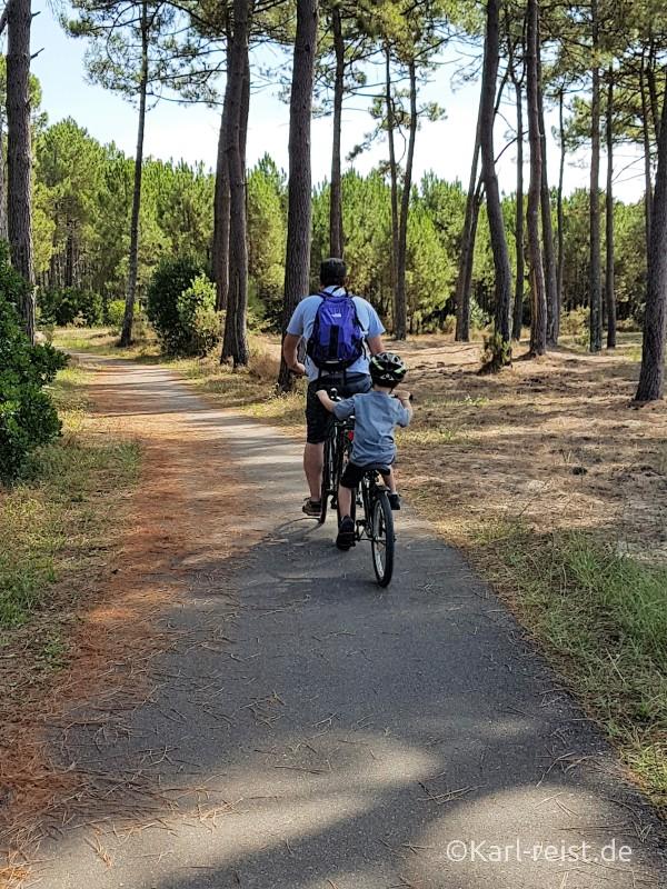 Biscarrosse Fahrradtour