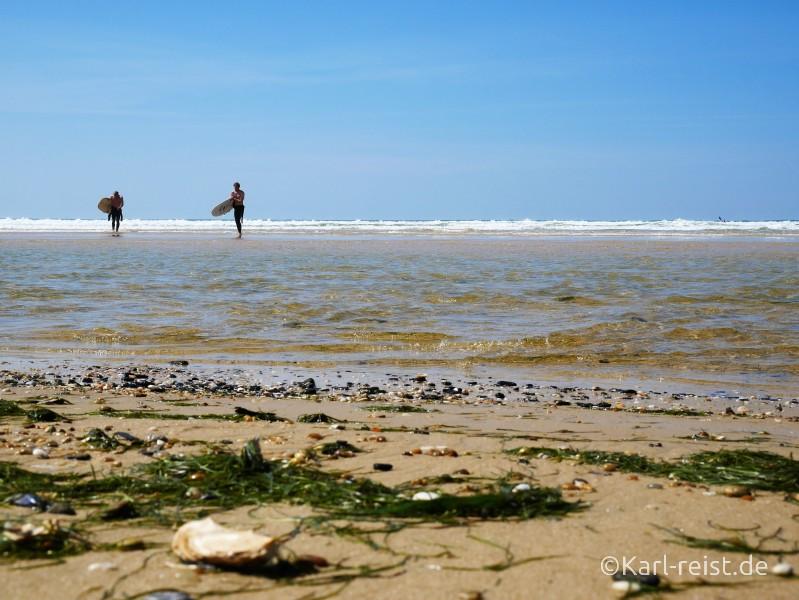 Biscarrosse Plage Strand Atlantik