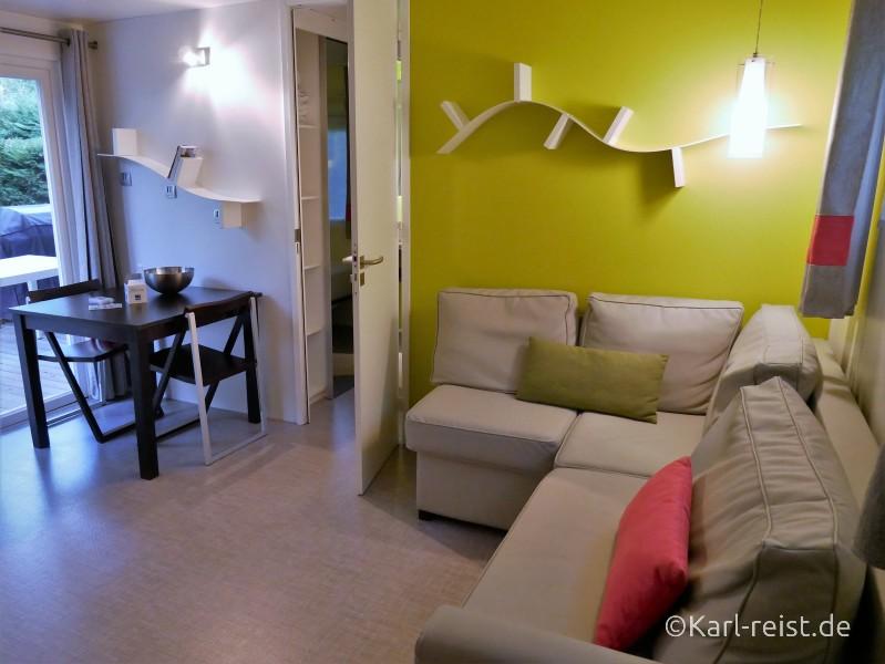 Castelot Premium Mobile Home Wohnzimmer