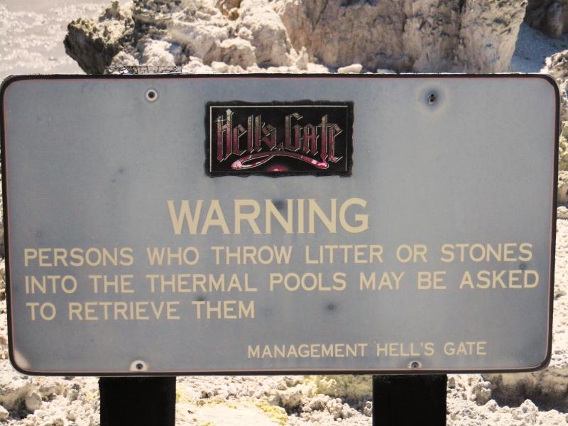 Hells Gate Thermalpark Neuseeland
