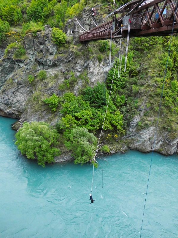 Bungee am Kawarau River