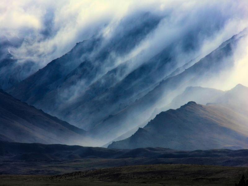 Lake Tekapo Wolken