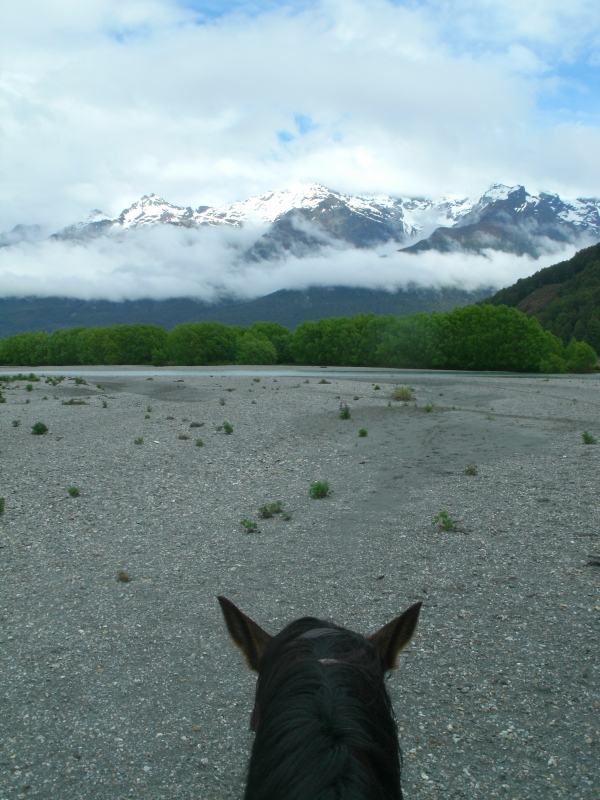 Ausritt in Glenorchy