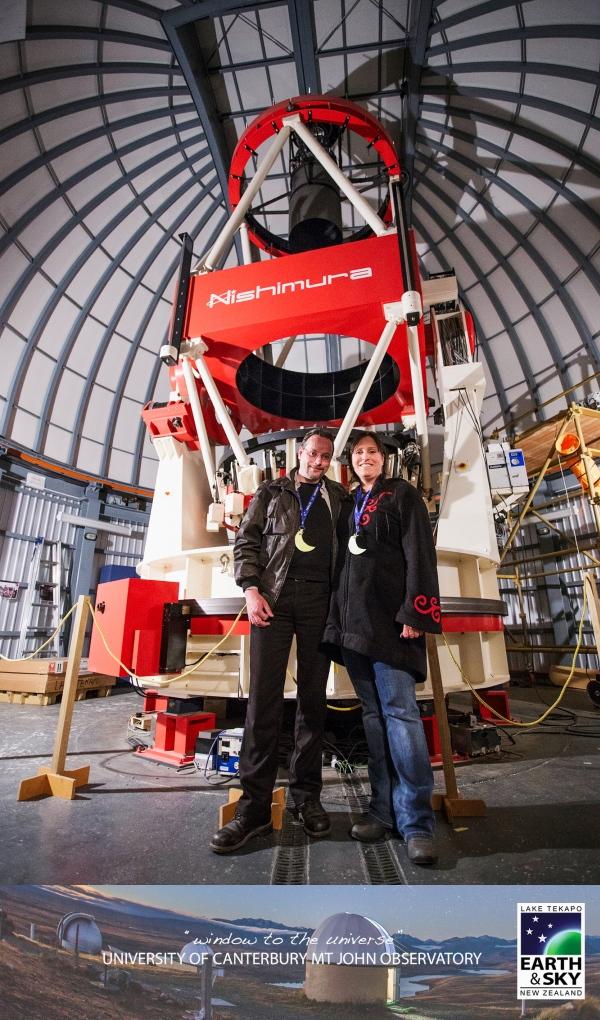 MOA Teleskop Neuseeland