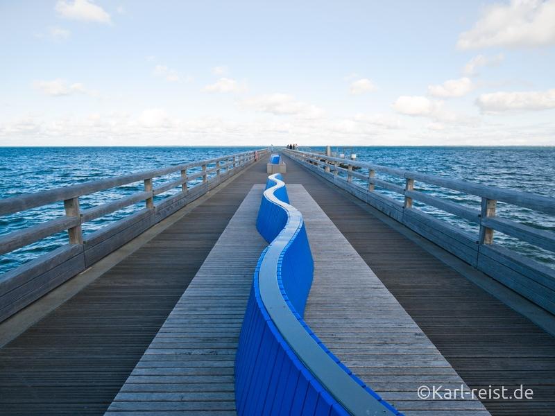Heiligenhafen Seebrücke Bänke