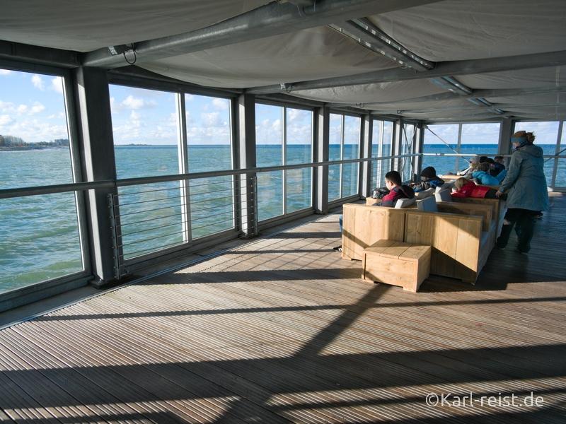 Heiligenhafen Seebrücke Lounge