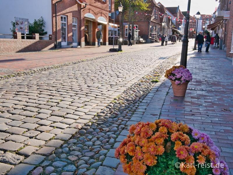 Heiligenhafen Innenstadt Kopfsteinpflaster