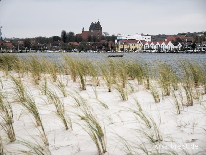 Heiligenhafen Ausblick auf Innenstadt