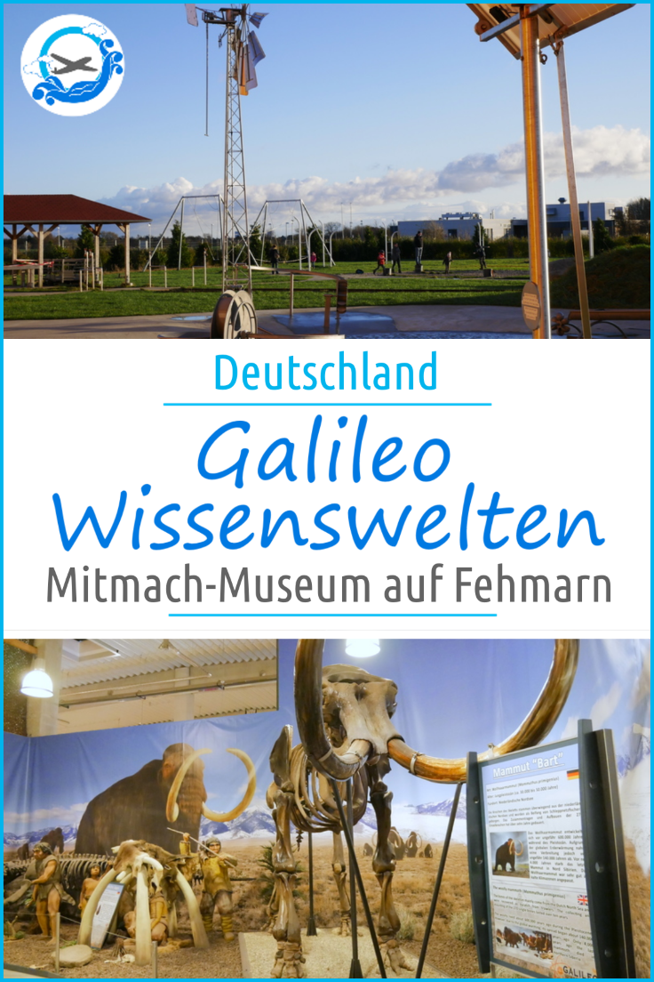 Das Mitmachmuseum Galileo Wissenswelten auf Fehmarn an der Ostsee in Schleswig-Holstein ist ein tolles Ausflugsziel für Familien mit Kindern. In unserem Bericht stellen wir alle drei Bereiche vor, angefangen bei den Dinosaurier-Skeletten über wissenschaftliche Experimente bis zu einem Ausflug in die Welt. Mehr dazu in unserem Bericht.